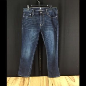 Men's Hollister Slim straight blue jeans 32x29